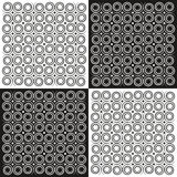 Background spirals in black and white Stock Image