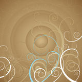 Background with spirals,vector Stock Photos