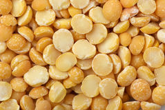 Background of split dried pea Royalty Free Stock Image