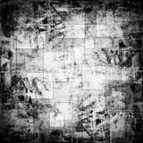 Background with squares. Scratched background with abstract squares royalty free illustration