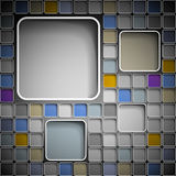 Background with squares. Background with colorful squares for text. Eps 10 Royalty Free Stock Image