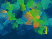 Background with squares. Colorful block pattern Stock Photos