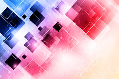 Background with squares Stock Images