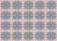 The background of squares and stripes in pastel co Stock Photo