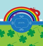 Background for st. patrick day Royalty Free Stock Photos