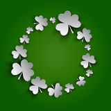 Background of St Patrick Day vector illustration Royalty Free Stock Photo