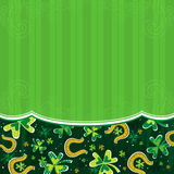 Background for St. Patrick's Day Stock Images