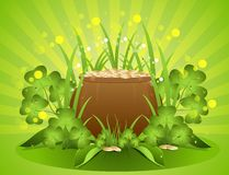 Background St. Patricks Day Royalty Free Stock Photography