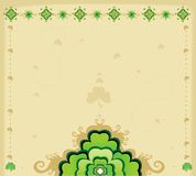 Background - St. Patrick's Day. Background for St. Patrick's Day,  illustration Stock Image