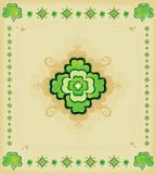 Background - St. Patrick's Day. Background for St. Patrick's Day, vector illustration Stock Photo
