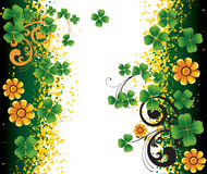 Background for St. Patrick's Day Stock Image
