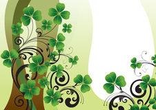 Background for St. Patrick's Day Royalty Free Stock Image