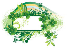 Background for St. Patrick's Day Stock Photos