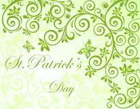 Background for St. Patrick's Day. Spring background for St. Patrick's Day Stock Images