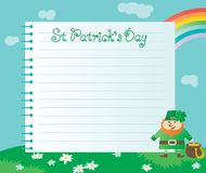 Background for St. Patricks Day royalty free illustration