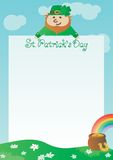 Background for St. Patricks Day Stock Image