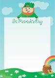 Background for St. Patricks Day Stock Image