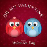 Background for St. Valentine's Day Stock Photo