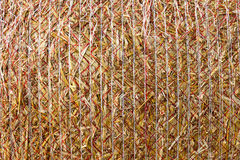 Background stack of straw Stock Photos