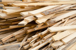 Background of stack wood boards Stock Photos