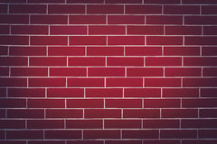 Background of a Dark Red Brick Wall Stock Image