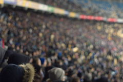 Background of the stadium, the image is not in focus Royalty Free Stock Images