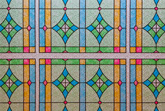 Stained Glass Window Pattern Stock Photography