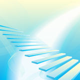 Background with stair Stock Photos