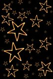 Background from a star. Royalty Free Stock Photos