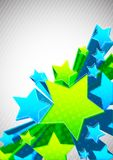 Background with star Stock Photography