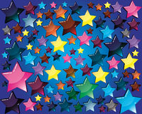 Background with Star Stock Photo