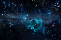 Background of the star sky Royalty Free Stock Photo