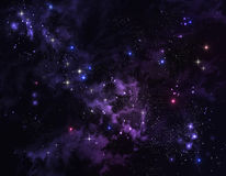 Background of the star sky Stock Photography