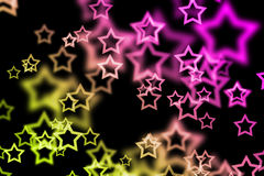Background with star texture Stock Image