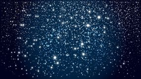 Background with Starry night sky stock images