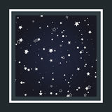 Background of the starry sky Stock Photos