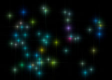 Background stars Royalty Free Stock Images