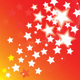 Background with stars Royalty Free Stock Images