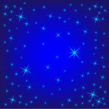Background with Stars royalty free illustration