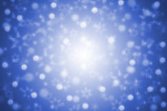 Background - Stars - blue Royalty Free Stock Photos