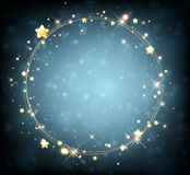Background with stars Royalty Free Stock Image