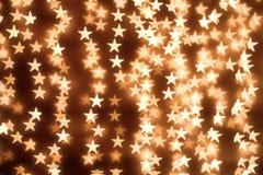 Background of stars. Blurring lights bokeh background of stars Stock Images