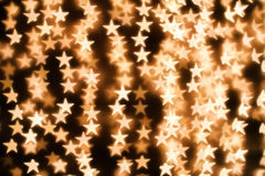 Background of stars. Blurring lights bokeh background of stars Royalty Free Stock Images
