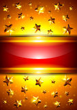 Background with stars and place for text Royalty Free Stock Photos