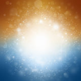 Background with stars and sparkles. Elegant background design with space for your text Stock Images