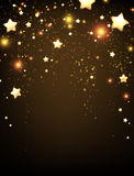 Background with stars Royalty Free Stock Photography