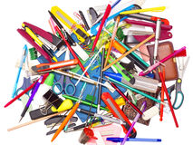 Background of stationery Royalty Free Stock Image
