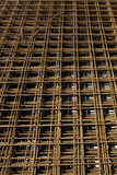 Background of steel mesh Stock Photos