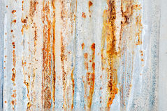 Background steel surface,Galvanized sheet with rust Stock Photos