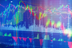 Background of stock market finance analysis Stock Photos